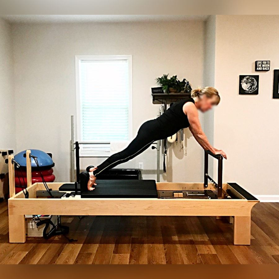Pilates Reformer Rehab (Height of the Bed 19 in) 5